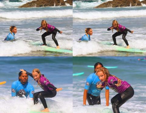 Los resultados aprender en Xagó Surf, con la escuela surfastur